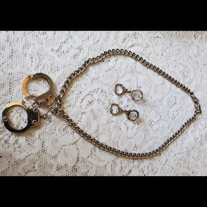 Handcuff Earring & Necklace Set